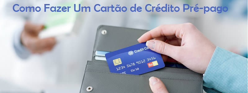 Cartão de Crédito Pré-pago Itaú